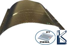 Werkstofflich integriertes, thermoplastverbundkompatibles Piezokeramikmodul (TPM) in Thermoplastverbundstruktur