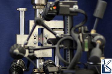 Mechanische Prüfungen » Optisches Messsystem bei VNRS-Versuch