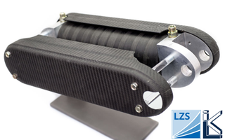 Prototyp Leichtbau-Hydraulikzylinder Luftfahrt
