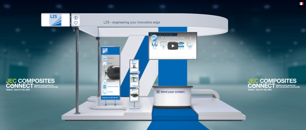 LZS auf der JEC Composites Connect 2021