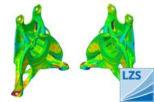 Comparison of CAD and real geometry by ATOS ®